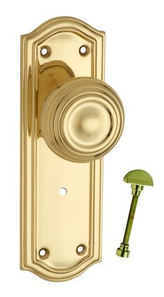 Decorative Door Handles - Kensington Range in Antique Brass ...