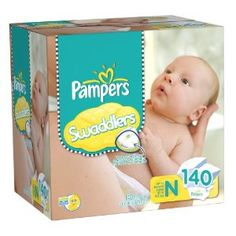 I'm learning all about Pampers Swaddlers Super Pack Newborn Diapers 108 ct Box at G Diapers, Newborn Diapers, Diaper Sizes, Disposable Diapers, Baby Essentials, Baby Registry, Baby Gear, Little Babies, Breastfeeding