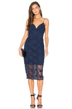 Lumier Hard To Love Dress in Navy
