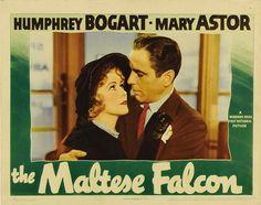 Movie Posters:Film Noir, The Maltese Falcon (Warner Brothers, Lobby Card . Humphrey Bogart, Bogart And Bacall, Warner Brothers, Warner Bros, Casablanca Movie, Mgm Las Vegas, Sylvester The Cat, Mary Astor, Star Wars