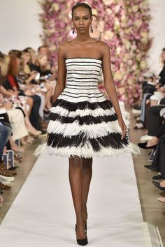 New York Fashion Week SS 2015 Oscar de la Renta