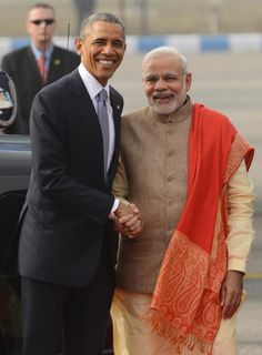 Namaste President Obama and First Lady Michelle Obama