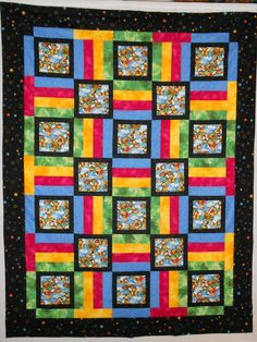 Precious Moments Quilt Crib Teddy Bear Rainbow Wall Art Blanket Unfinished Crazy Price Baby Blankets & Throws