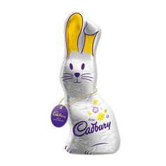 The Cadbury Easter Bunny lets you say 'Happy Easter' in a big way. This hollow Cadbury milk chocolate bunny is a delicious treat for this Easter holiday.