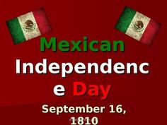 This is an informational PowerPoint with key ideas and details about Mexico's Independence Day. It is a great way to help your students learn about this Mexican holiday. It only has 10 slides, so this would be an excellent, short activity if you are crunched on time, or it could be part of a larger unit.
