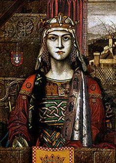 María de Molina, Queen of Castile (1265-1321). Wife of King Sancho IV of Castile