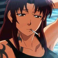 Revy Black Lagoon, Black Lagoon Anime, Best Profile Pictures, Cartoon Profile Pictures, Anime Toon, Anime Manga, Anime Art Girl, Manga Girl, Cigarette Girl