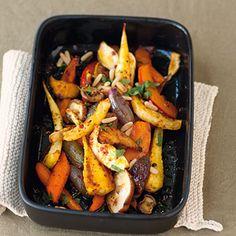 Herbstlich-winterliches Ofengemüse Rezept | Küchengötter