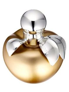 Pommes D'Or Nina by Nina Ricci Gold Edition ($54) is a fruity floral blend of citrus and musk topped with a red toffee apple note. travel-size scents in complementary notes) is a sweet, celebratory take on the best-selling Be Delicious perfume; Nina by Nina Ricci Gold Edition ($54) is a fruity floral blend of citrus and musk topped with a red toffee apple note. - MarieClaire.com