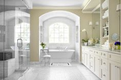 Ansley Park Master Bath traditional bathroom