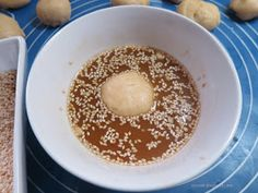 Ζουζουνομαγειρέματα: Σουσαμομπουκιές γεμιστές με κασέρι! Pudding, Desserts, Blog, Tailgate Desserts, Deserts, Custard Pudding, Puddings, Postres, Blogging