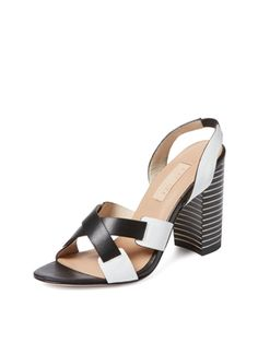 Block Heel Slingback Sandal from Summer Trend: Block-Heel Sandals on Gilt