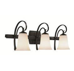 View the Hubbardton Forge 204533 3 Light Up or Down Mount Direct Wire Wall Sconce from the Scroll Collection at LightingDirect.com.