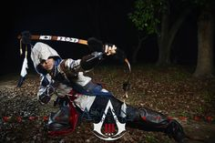 Character: Connor Kenway  Game: Assassin's Creed  III  Photog: 烈音