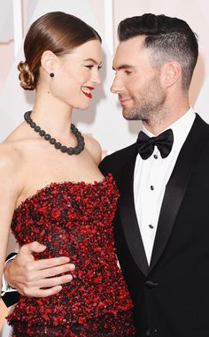 Adam Levine adorably serenades Behati Prinsloo on their anniversary! <3