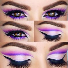 Image about love in Make up by Kalina on We Heart It Love Makeup, Makeup Art, Makeup Tips, Beauty Makeup, Makeup Looks, Hair Makeup, Stunning Makeup, Makeup Ideas, Cheshire Cat Makeup