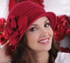 Dámske čiapky a barety : Dámska čapica ANASTAZJA