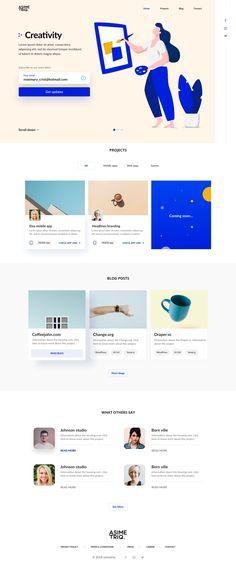 UI Design of the week 2 - Graphic - Design - ui design - uiux - web design - ui ux designer - Art - Inspirations - Graphicroozane Web Design Grid, Cool Web Design, Web Design Mobile, News Web Design, Web Design Quotes, Design Blog, Web Design Trends, Web Design Company, Web Design Inspiration
