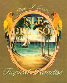 Isle del Sol Art Print by Catherine Jones at eu.art.com