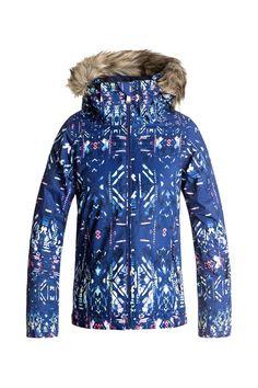 7d4bce4d5a7 Roxy Girl s American Pie Insulated Jacket Chaqueta Nieve