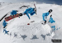 Backside Rodeo with Robin Ledieu by Tristan Shu in Val d`Isere via 500px