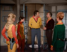 Colorized First Season Stills Space Tv Shows, Lost In Space, Season 1