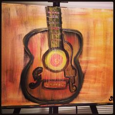 My guitar painting