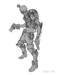 Character Design 001 by EsbenLash.deviantart.com on @deviantART