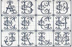 Gallery.ru / Фото #54 - Sajou Passion des Alphabets Anciens - Orlanda
