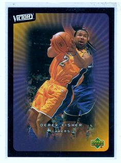 Sports Cards Basketball - 2003 UD Victory Derek Fisher