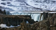 https://flic.kr/p/KC8yY3 | when you experience the awe of nature's creations | Photographers at the edge of Godafoss waterfall in Central-North Iceland. It is not just the scale and beauty of this waterfall but its entire environment, the amazing river canyon formed from columnar basalt, the surrounding mountains and the sheer scale that make you feel elated and dizzy. I shot this scenario for I liked the different perspective offered.  National Geographic | BR-Creative | chbustos.com