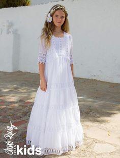 Imagen 20 Vestidos de Comunión ibicencos para niñas. Colección Charo Ruiz Ceremonia. | HISPABODAS