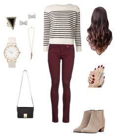 """Casual Lunch"" by allawrence on Polyvore featuring 8, Yves Saint Laurent, House of Harlow 1960, Marc by Marc Jacobs, Roberto Cavalli, Golden Goose, Jaeger, women's clothing, women and female"