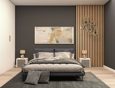 Wood Slat Wall, Wood Panel Walls, Wood Slats, Wood Paneling, Wood Wall Decor, Diy Wall Panel, Wall Panel Design, Wall Panelling, Wall Decor Design