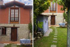 Vivienda Vacacional El Ñeru (Asturias) Fachada y jardin