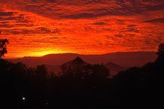 #santiago #chile #sunset #pordosol #puestadelsol