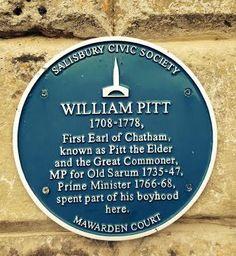 Salisbury, Stratford-sub-Castle. Mawarden Court where Wm Pitt spent part of his childhood.