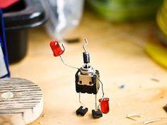 figuras con componentes electrónicos primer parte - Taringa!