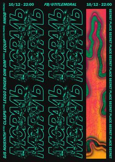 Gig Poster by Anton Synytsia - Gig Poster by Anton Synytsia Gig Poster by Anton Synytsia Graphic Design Posters, Graphic Design Typography, Graphic Design Inspiration, Graphic Art, Poster S, Poster Layout, Typography Poster, Gfx Design, Layout Design