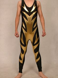 wrestling Zentai mixed