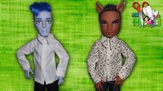 Wie ein T-Shirt für Jungen zu nähen Puppen Monster High, Barbie (Ken) / ...