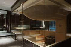 Klafs sauna at ESPA Life at Corinthia Hotel London London Hotels, Spa London, Berkeley Hotel, Luxury Gym, Sauna Heater, Sauna Design, Steam Bath, Two Bedroom Apartments, Treatment Rooms