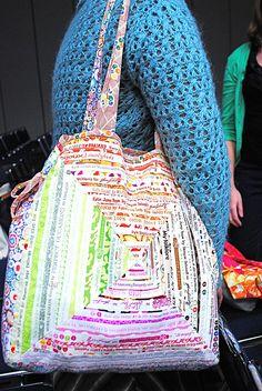 cool selvage bag