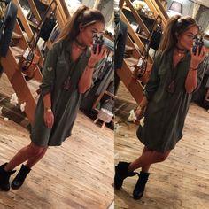 Deze hippe blouse is een item die je in je kast moet hebben hangen, met de gave emblaim maakt jou outfit net even wat anders.   http://www.halloshop.nl/a-44567853/kleding/lange-blouse-army-green/