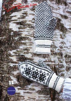 Вязаная копилка. Варежки, перчатки, митенки - №1 - 2015