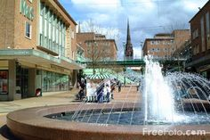 Coventry, England - Central Shopping Precinct - this brings back memories, I used to work just around the corner from here.