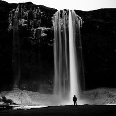 FrozenAngelhair - #Seljalandsfoss #Iceland #waterfall - © 2013 Mabry Campbell