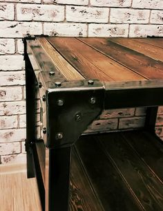 Coffee table in loft by seppoilmarinen on Etsy