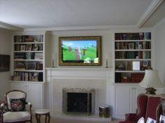 Hide Tv Behind A Two Way Mirror