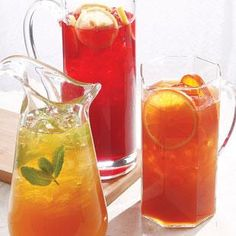 yummy summer ice tea recipes!